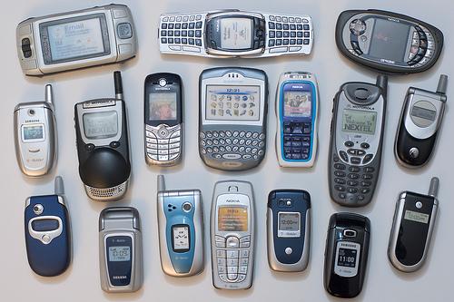 歴代携帯電話